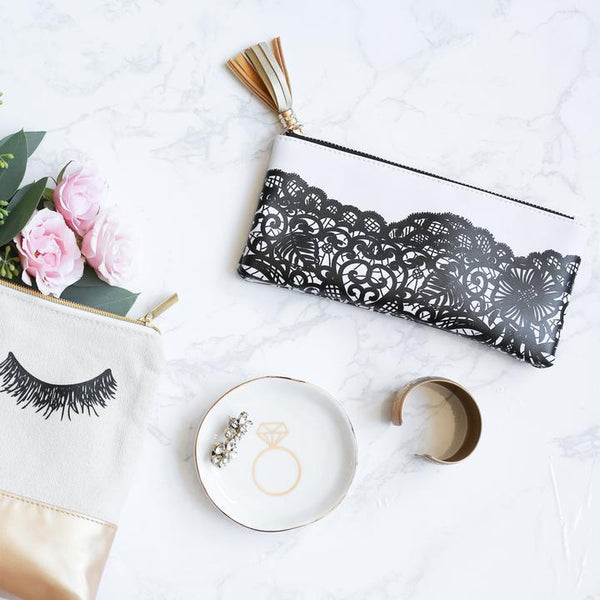 Lace Pouch by Sweet Water Decor - Dear Reverie