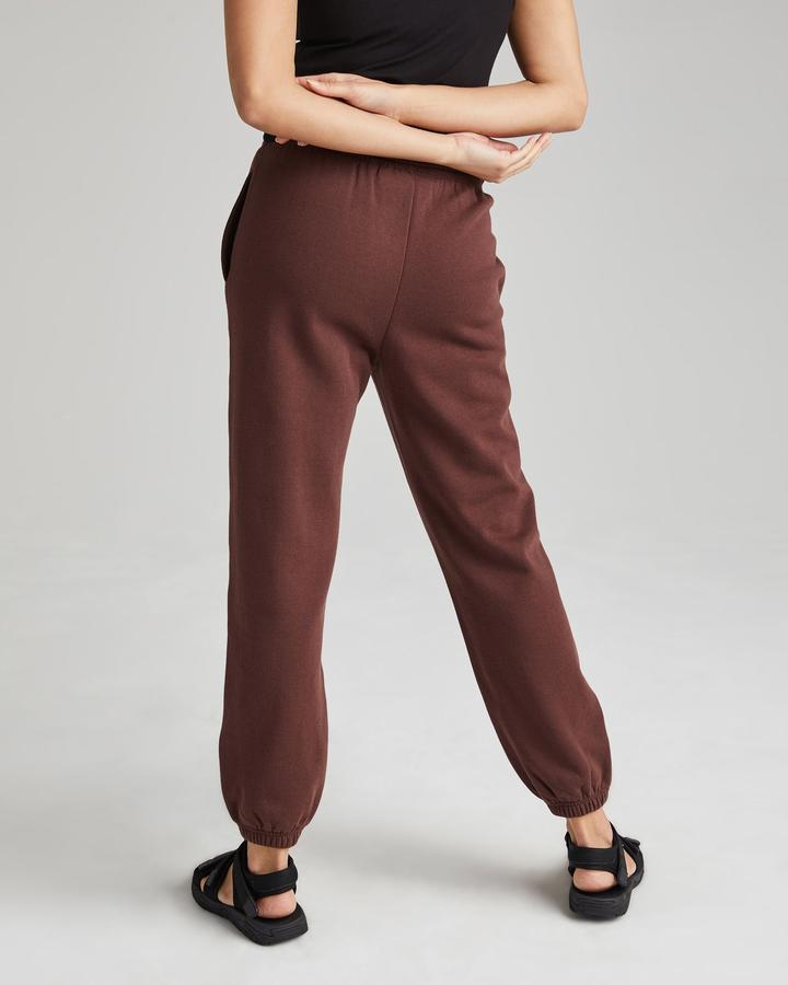 Recycled Fleece Sweatpant - Truffle