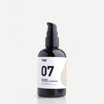 07 Moisturizing Body Oil: Cedarwood + Grapefruit-Way Of Will-MONIKER GENERAL