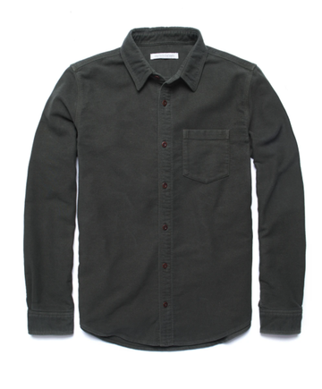 Lost Coast Moleskin Shirt - Pine