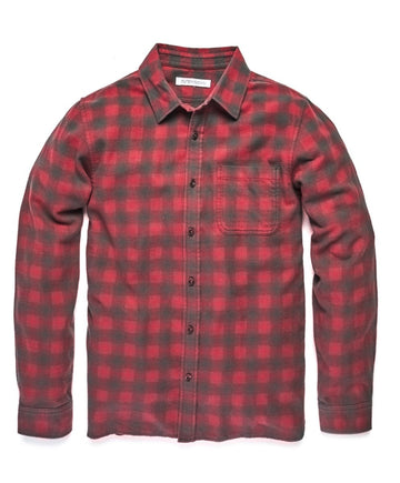 Transitional Flannel - Redstone Happy Buffalo