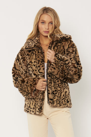 Badlands Faux Fur Jacket