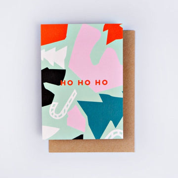 Christmas Cut Out Shapes Card