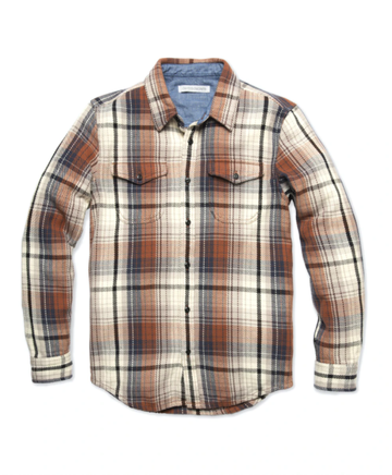 Blanket Shirt - Earth Seaview Plaid