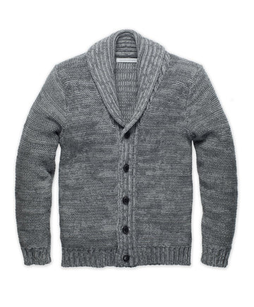 Northbeach Cardigan - Heather Charcoal