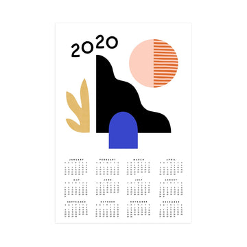 2020 Wall Calendar-Worthwhile Paper-MONIKER GENERAL