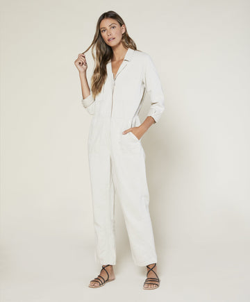 Station Jumpsuit - Natural