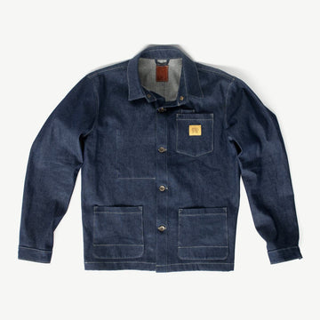 Edison Chore Coat - Raw Denim