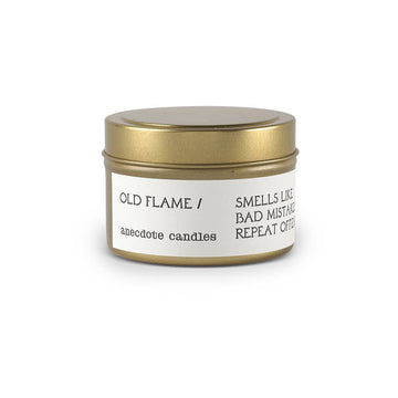 Old Flame (Santal) Travel Candle