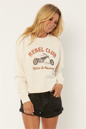Rebel Club Fleece Crew