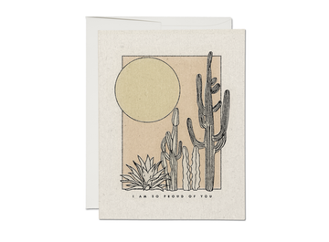 Desert Sunrise Card