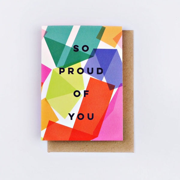 So Proud of You Origami Card