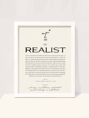 The Realist Art Print - 8