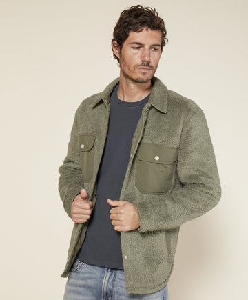 Skyline Shirt Jacket - Olive