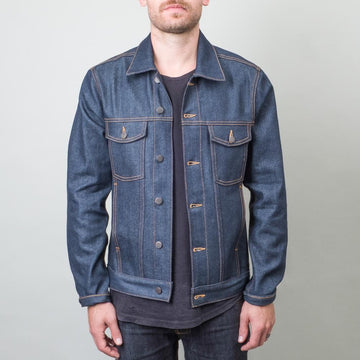 Coast Denim - High Tide Dry Indigo Jacket