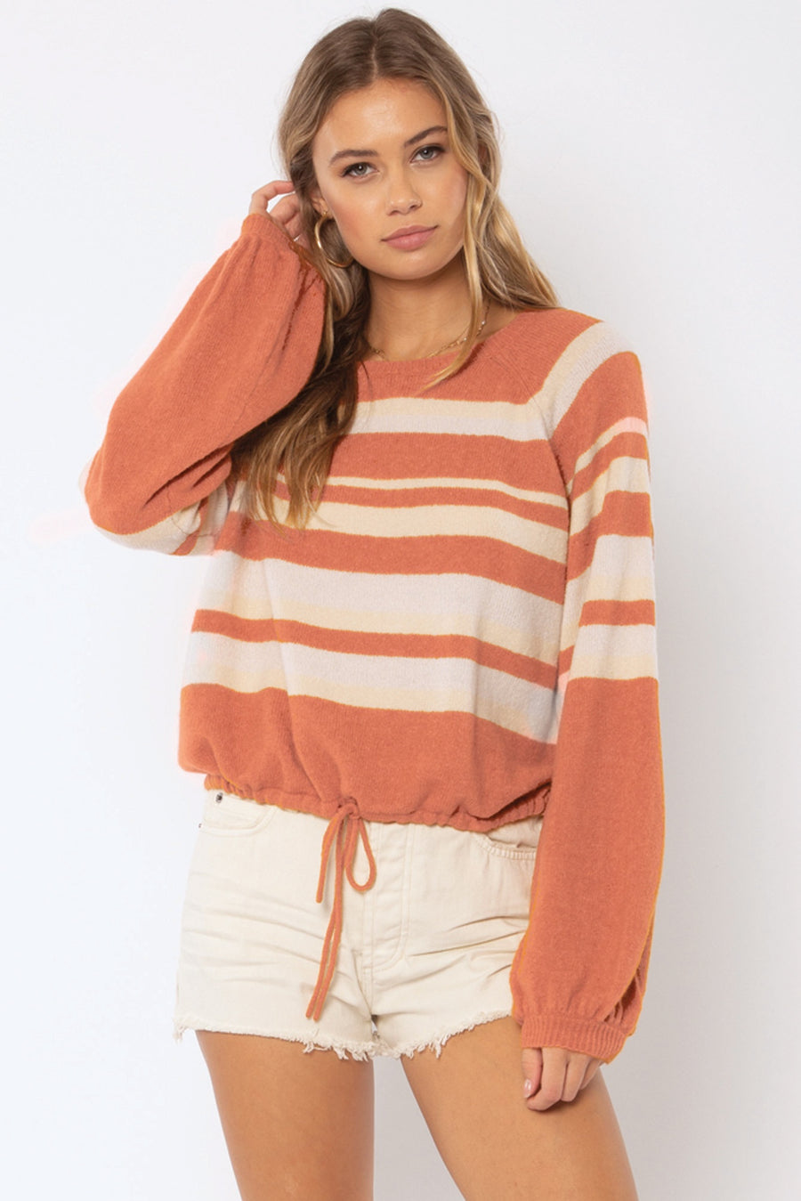Terra Knit Sweater - Cognac