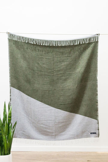 Two Tone Blanket - Forest