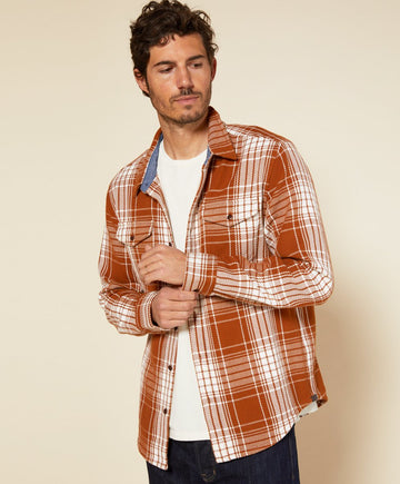 Blanket Shirt - Cedar Bigbury Plaid