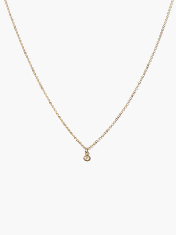 Stella Drop Necklace - Gold