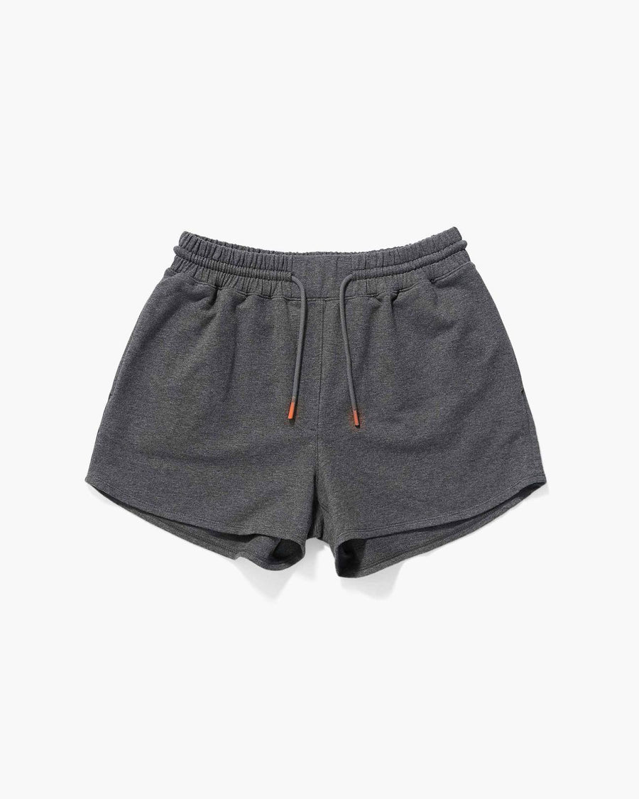 Terry Sweatshort - Charcoal Heather Grey