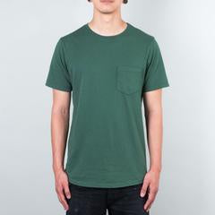 Basic Pocket Curved Hem - New Evergreen
