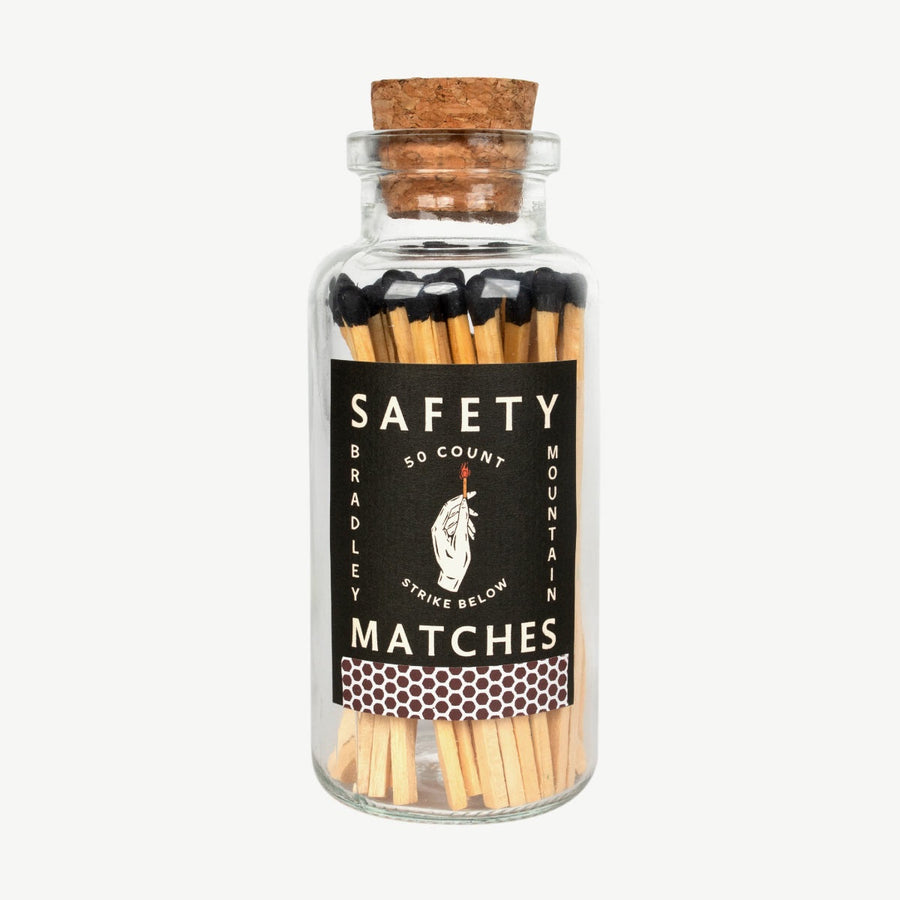 Safety Matches Bottle