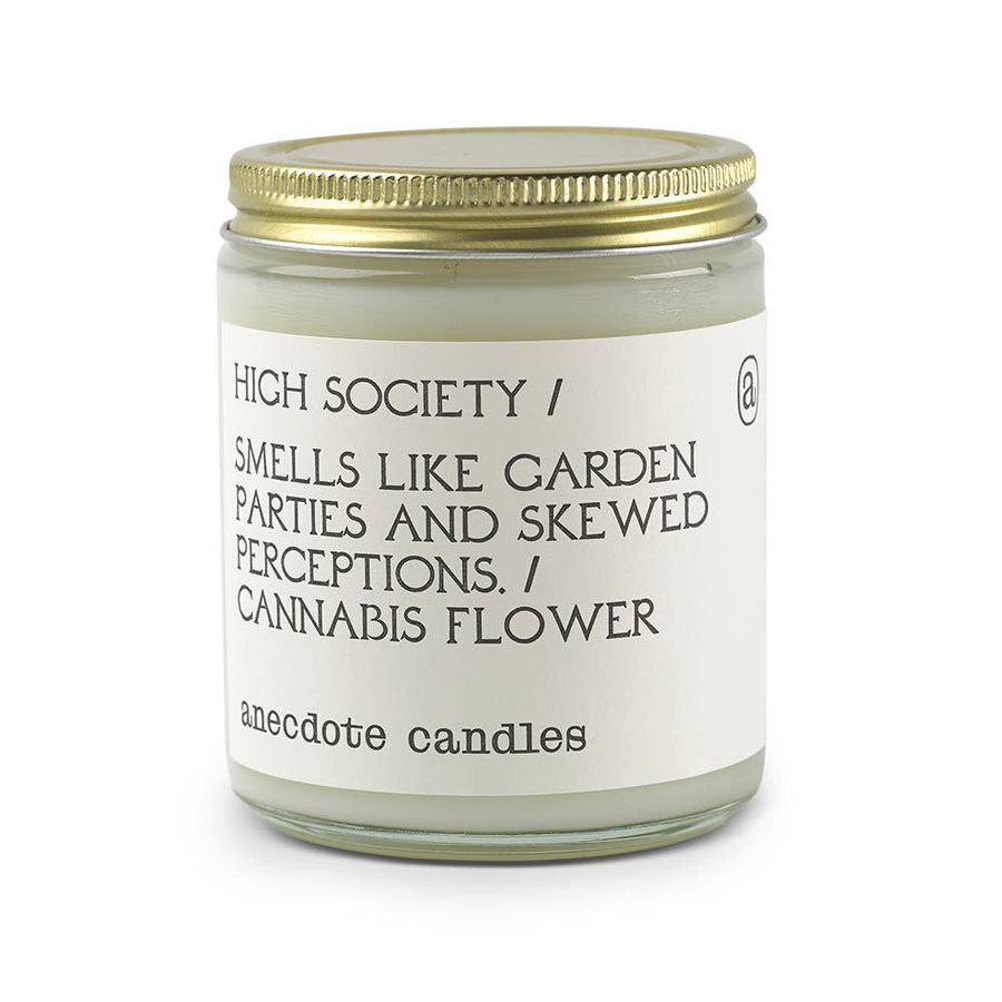 High Society Glass Jar Candle