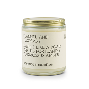 Flannel & Fedoras Candle