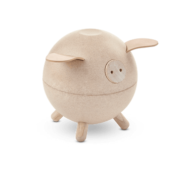Piggy Bank - White