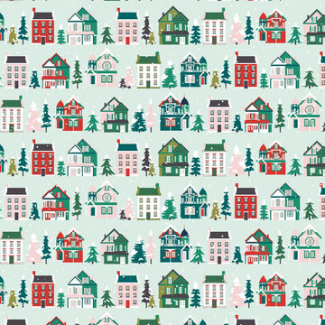 Christmas Houses Gift Wrap