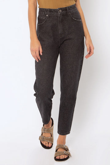 Stella Denim Pant - Washed Black