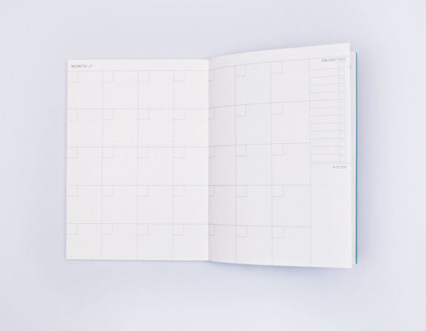 Memphis Brush No. 2 Weekly Planner