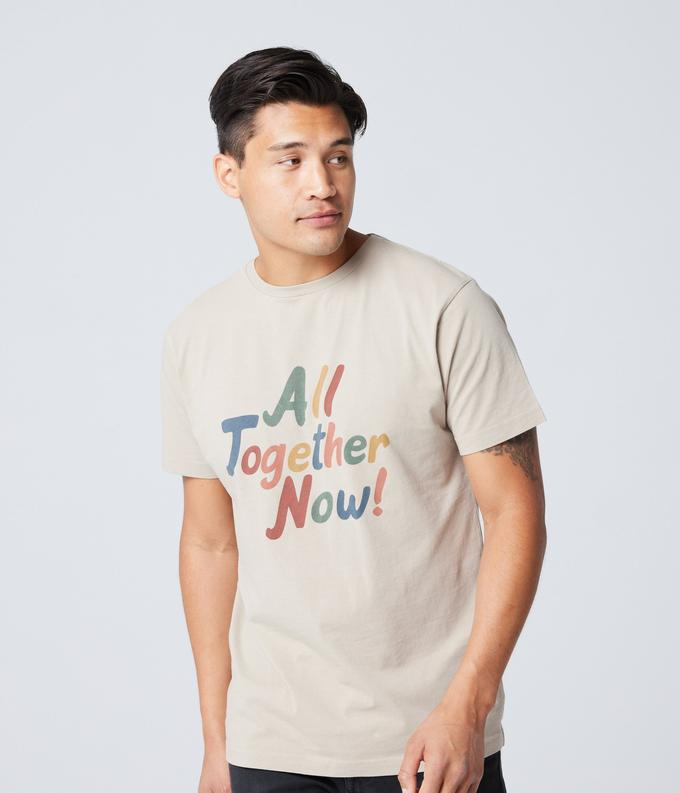 All Together Tee - Oatmeal