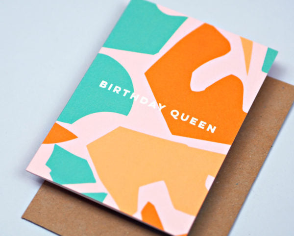Birthday Queen Card