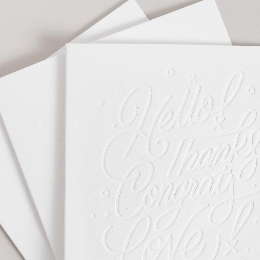 Lettering Color-In Greeting Card Pack