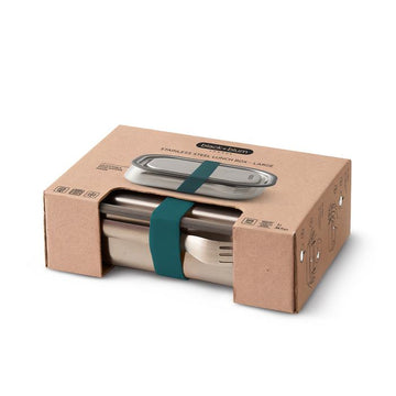 Stainless Steel Lunch Box - Teal