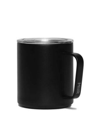 12 oz VI Camp Cup - Black