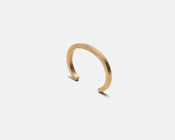Uniform Square Cuff - Brass - Large