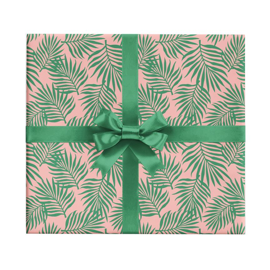 Palm Leaves Gift Wrap