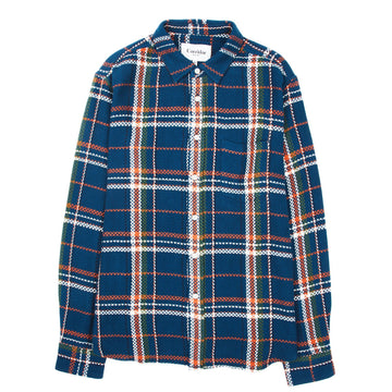 Acid Plaid Navy Shirt-Corridor-MONIKER GENERAL