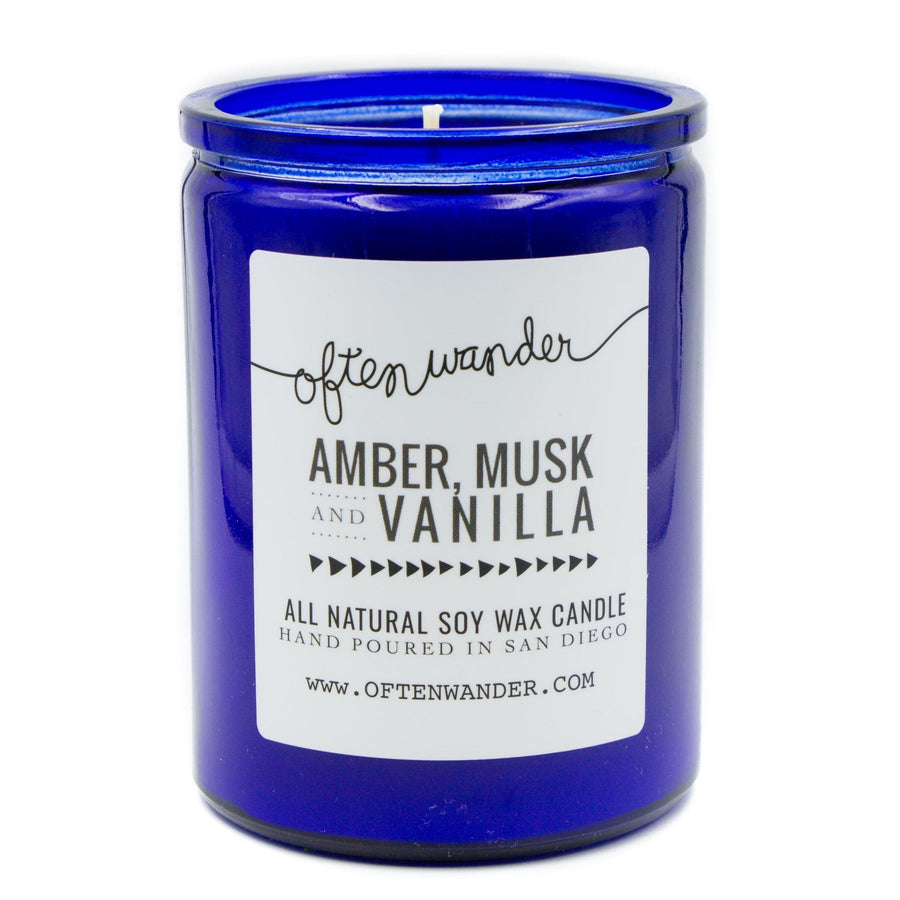 Amber Musk Vanilla 12oz-Often Wander-MONIKER GENERAL