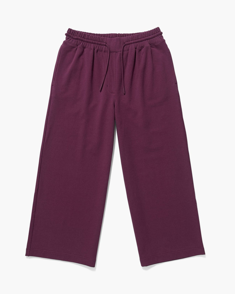 Terry Wide Leg Pant - Fig