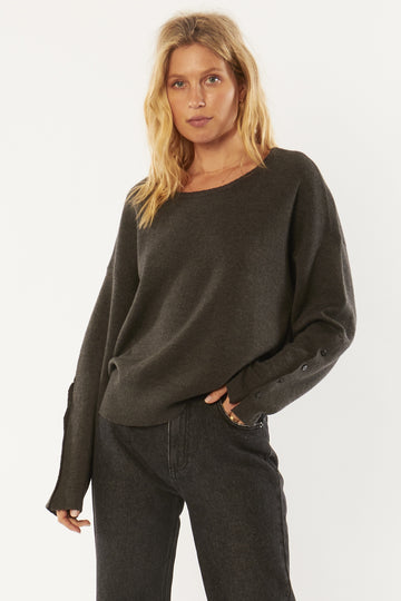 Starshine Sweater - charcoal