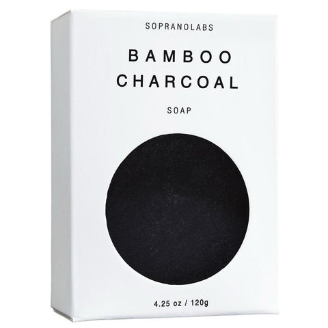 Bamboo Charcoal Vegan Soap ( 4.25 Oz (120 g))-SopranoLabs-MONIKER GENERAL