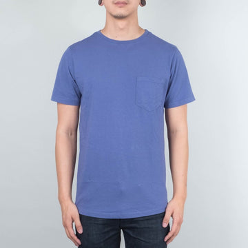 Basic Pocket Curved Hem - Pale Indigo-Lone Flag-MONIKER GENERAL