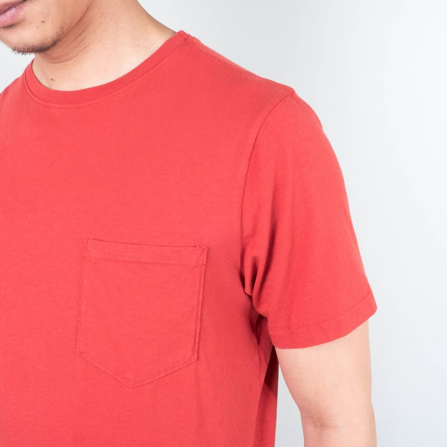 Basic Pocket Curved Hem- Paprika-Lone Flag-MONIKER GENERAL