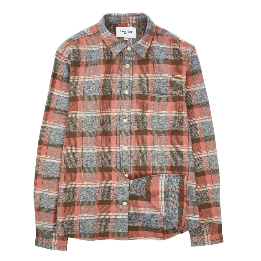 Blanket Plaid Clay Shirt-Corridor-MONIKER GENERAL