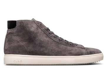 Bradley Mid Dark Charcoal Pig Suede-Clae-MONIKER GENERAL