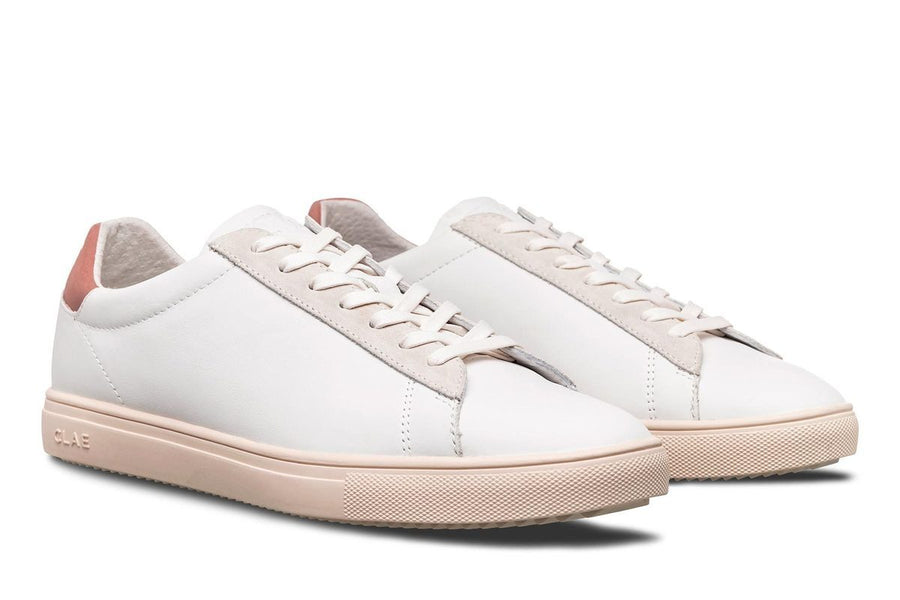 Bradley White Milled Leather - Terracota-Clae-MONIKER GENERAL