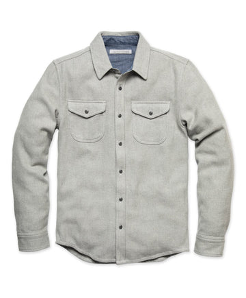 Blanket Shirt - Heather Grey Twill